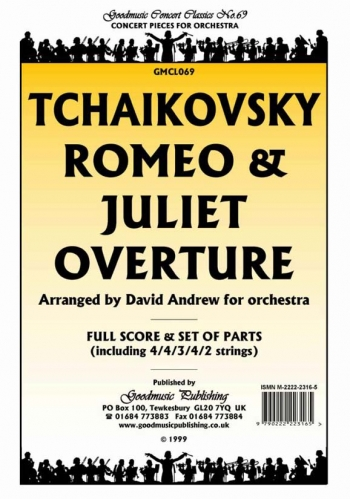 Orch/tchaikovsky/romeo and Juliet Overture/orchestra/score