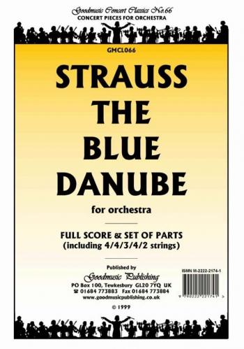 Orch/strauss/blue Danube/orchestra/scandpts