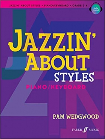 Jazzin About Styles: Piano : Bk&CD
