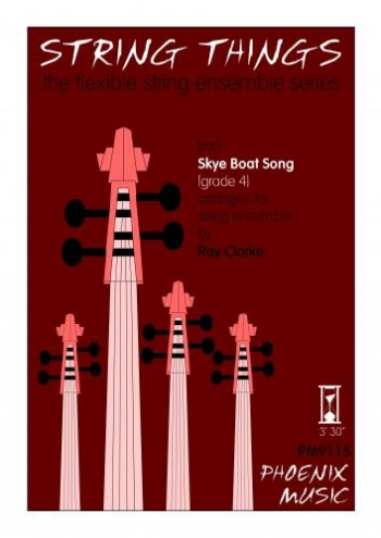String Things: Skye Boat Song: String Ensemble: Score and Parts: Gr3-4