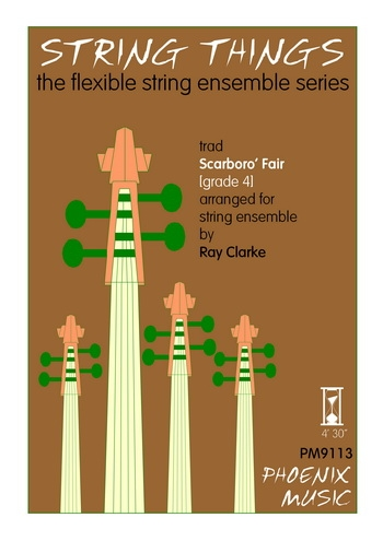 String Things: Scarboro Fair: String Ensemble: Score and Parts
