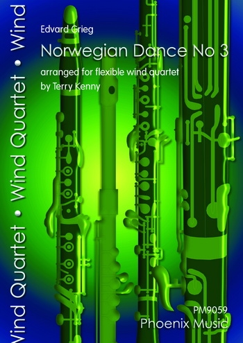 Norwegian Dance No 3: Woodwind: Variable Quartet
