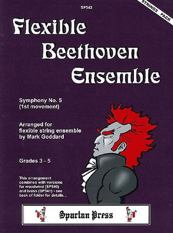 Flexible String Ensemble: Beethoven Ensemble: String Ensemble: Score and Parts