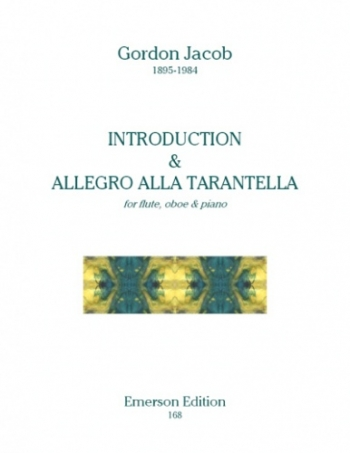 Introduction and Allegro Alla Tarantella: Woodwind Trio