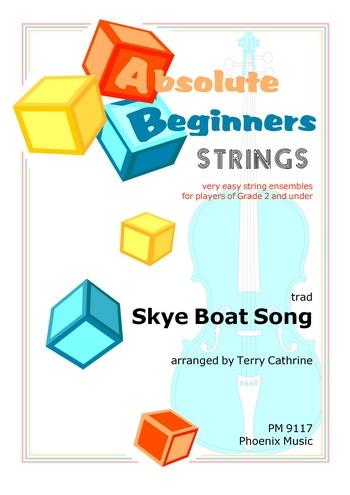 Absolute Beginners Strings: Skye Boat Song:4 Part Flexible String Ensemble