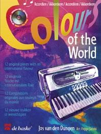 Colours Of The World: Accordion: Book & CD (van Den Dungen)