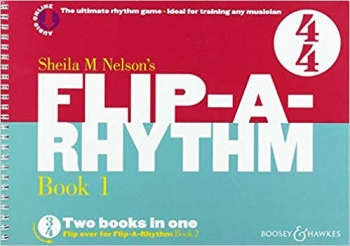 Flip A Rhythm: Book 1: 1/2 Time And 4/4 Time: Vocal: Activity Book