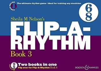 Flip A Rhythm: Book 2: 6/8 Time And 9/8 Time: Vocal: Activity Book