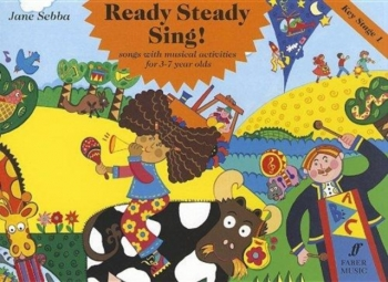 Ready Steady Sing!: Vocal: Activity Book: Ks1