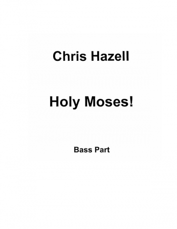 Holy Moses Vocal Cantata: Vocal And Piano