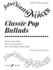 Classic Pop Ballads: Vocal SAB