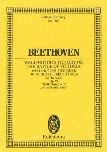 Wellingtons Victory Or The Battle Of Vittoria: Miniature Score