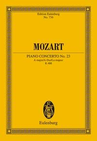 Piano Concerto: A Major K488: Miniature Score