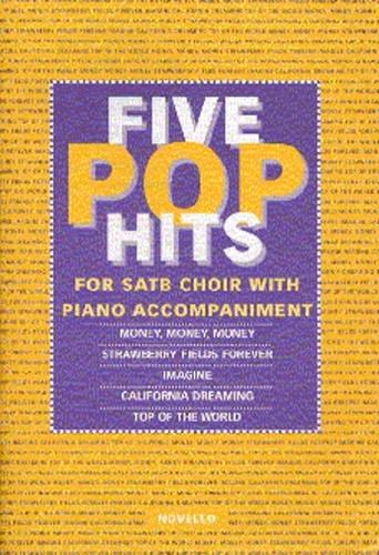 5 Pop Hits: Vocal satb