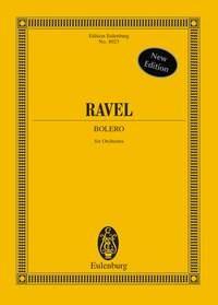 Bolero: Miniature Score: Orchestra
