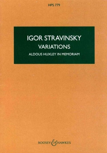 Variations: Miniature Score