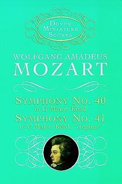 "Symphony No.40 And 41 ""jupiter"", K550 And K551: Miniature Score"