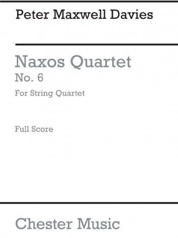 Naxos Quartet No 6: Miniature Score