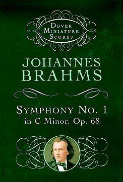 Symphony No.1 In C Minor Op68: Miniature Score
