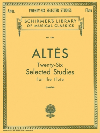 26 Selected Studies: Flute