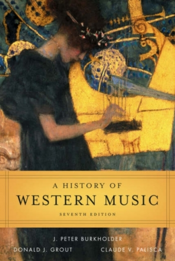 History Of Western Music: Text Book