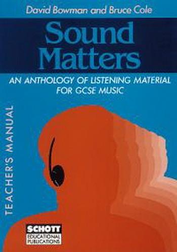 Sound Matters: Teachers Manual: Text Book (Bowman)