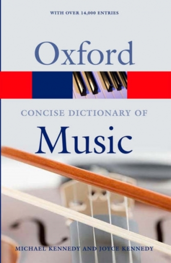 Oxford Concise Dictionary Of Music The