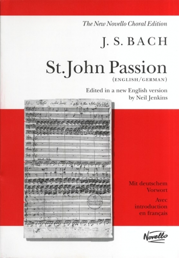 St John Passion: Vocal Score (Jenkins)  (Novello)