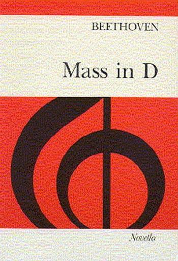 Mass D: Vocal Score (Novello)