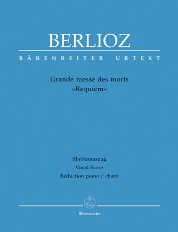 Grande Messe Des Morts (Requiem): Vocal Score(Barenreiter)