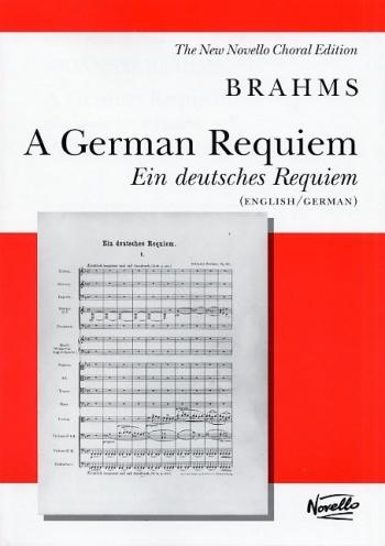 German Requiem: Ein Deutsches Requiem: English & German: Vocal Score Ed Pilkington (Novello)
