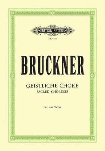 10 Sacred Choruses: Geistliche Chore: Vocal: Satb