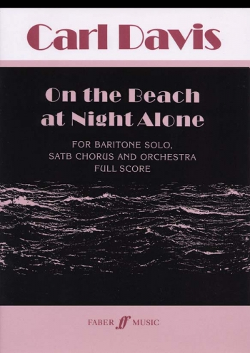 On The Beach At Night Alone: Vocal Score