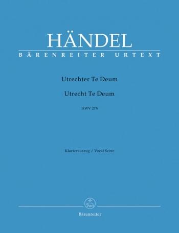 Utrechter Te Deum: Vocal Score (Barenreiter)