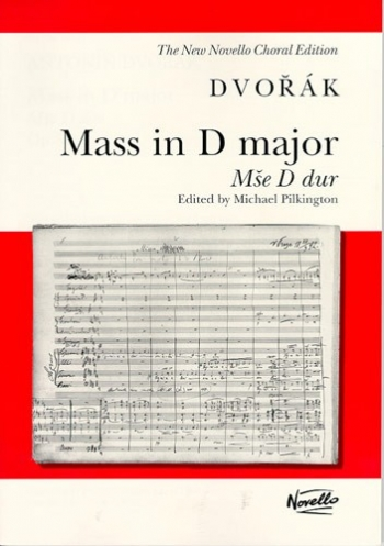 Mass In D Major: Op86: Vocal Score (Pilkington)