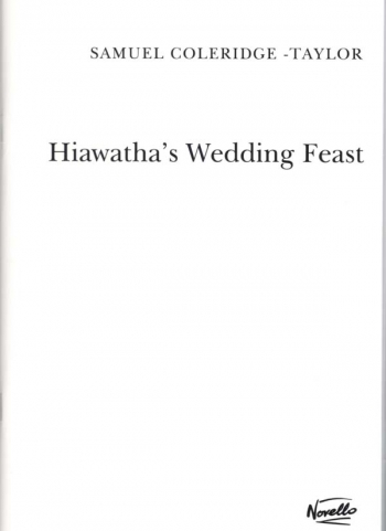 Hiawathas Wedding Feast: Vocal Score