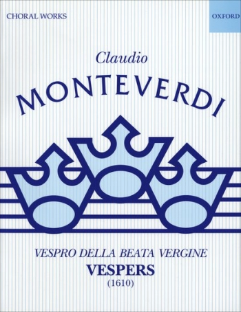 Vespers (1610): Vocal Score (Kurtzman) (Oxford)