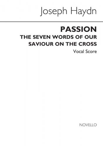 Passion (The Seven Last Words): Vocal Score