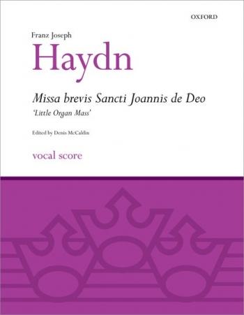 Missa Brevis Sancti Joannis De Deo (Little Organ Mass: Vocal Score