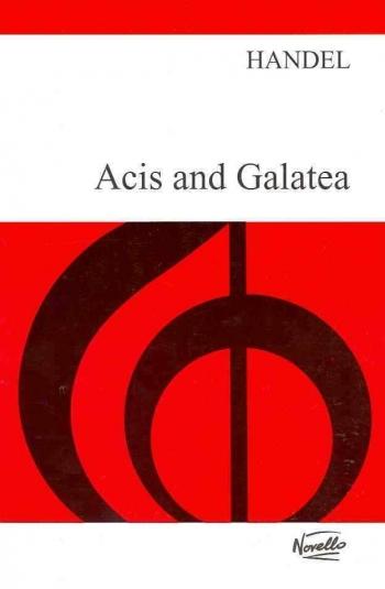 Acis And Galatea: Vocal Score  (Novello)