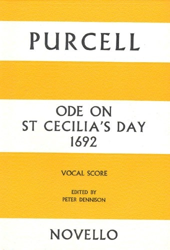 Ode On St Cecilias Day 1692: Vocal Score