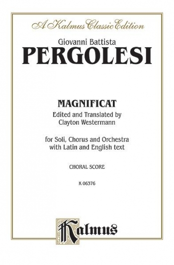 Magnificat: Vocal Score