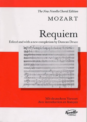 Requiem KV626 Vocal Score (druce) (Novello)