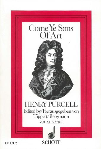 Come Ye Sons Of Art: Vocal Score (Schott)
