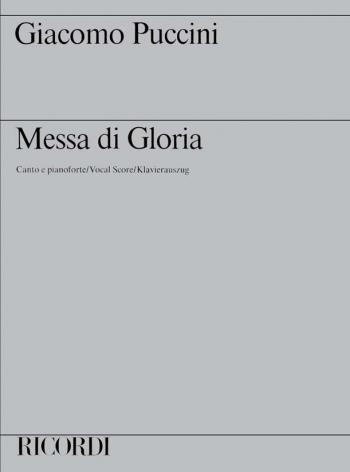Messa Di Gloria: Vocal Score (Ricordi)