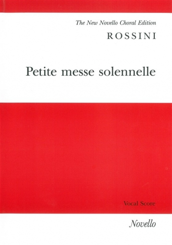 Petite Messe Solennelle: Vocal Score