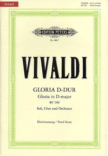Gloria: Vocal Score (Peters)