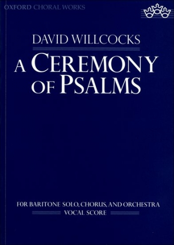 Ceremony Of Psalms A: Vocal Score