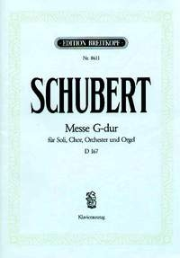 Mass In G Major D167: Vocal Score