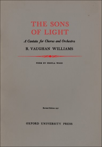 Sons Of Light The: Vocal Score